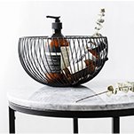 Why is the iron storage basket so beautiful?