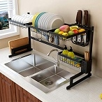 Kitchen storage rack-storage is no longer a problem